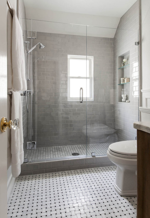 grey-subway-shower-tiles-shower-niche-glass-shelves
